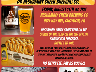 Charity Movie Night @ Neshaminy Creek Brewing Co