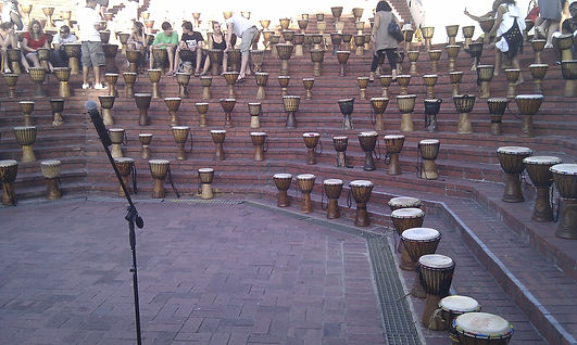 team building, djembe playing, cape town, south africa