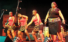 African Dancing, singer, band, South Africa, Cape Town
