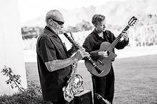 Gary Deacon and Willie Van Zyl. Wedding duet