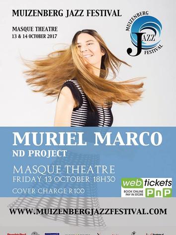 Muriel Marco en Muizenberg Jazz Festival