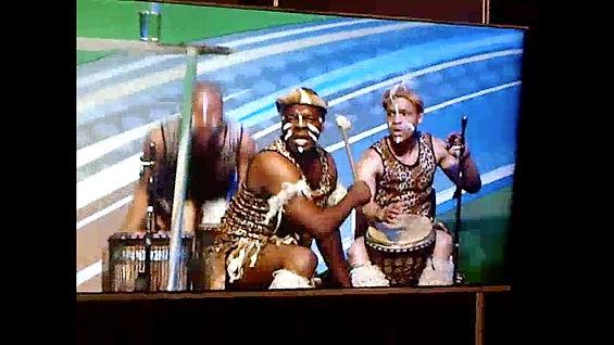 zulu group, dance, south africa, cape town