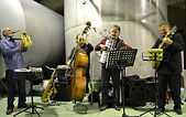 Gypsy music, guitar, double bass, accordion, saxophone, Cape Town, South Africa