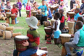 djembe, team building, drumming, dancing, south Africa