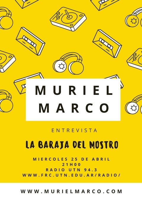 Muriel Marco Entrevista en La Baraja del mostro