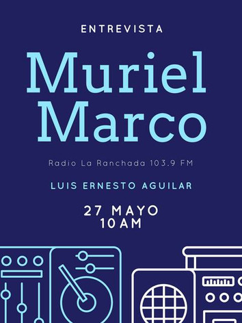 Muriel Marco Entrevista Radio La R