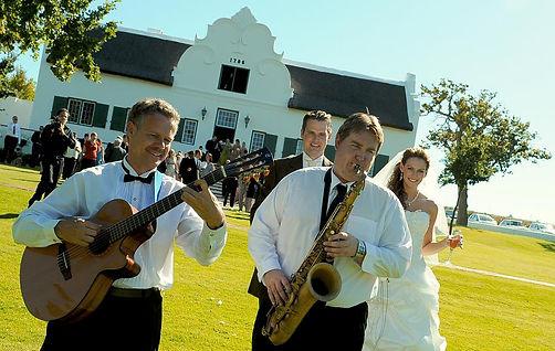 Gary Decon, Marc de kock, guitar, saxophone, wedding, pre-drinks, duets, jazz music,