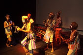 Dancing group, Zulu dancing, marimba and drumming, Cape Town, South Africa