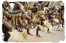 South African dancing