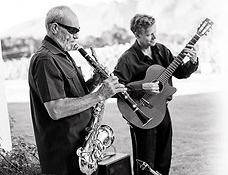 Willie Van Zyl and Gary Deacon, clarinet, guitar, Cape Town, South Africa