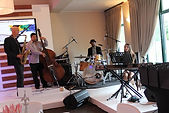 Jazz band, Muriel Marco, Shaun Johannes, Frank Paco, Buddy Wells, Cape Town, South Africa