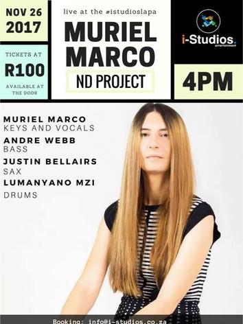 Muriel Marco en Lapa, Cape Town.