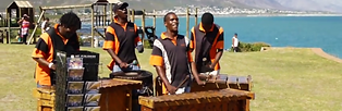 Marimba group, Drumming, percussion, Cape Town, South Africa