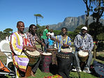 Djembe players, Cape Town, South Africa