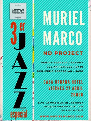 Muriel Marco en L'ecole Jazz Festival