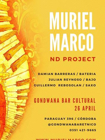 Muriel Marco en Gondwana Bar Cultural