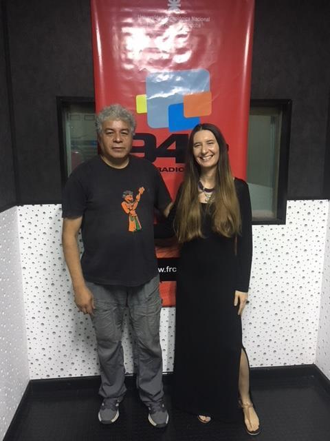 Muriel Marco con el Mostro Entrevista