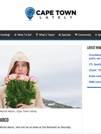Muriel Marco feature in Cape Town Lately