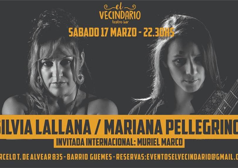 Siliva Lallana y Marian Pellegrino