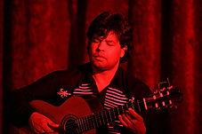 Flamenco guitarist, South Africa