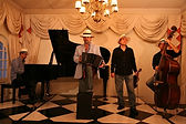 Tango ensemble, Cape Town, South Africa, accordion, piano, violin, double bass