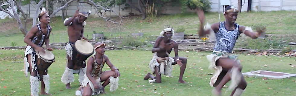 zulu group, dance, south africa, cape town