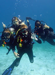Dive Sibaltan Dive Master Trainees