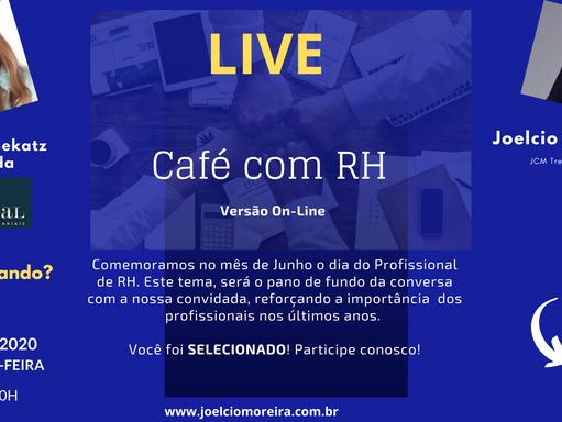 """Café com RH """"On-line"""", com Elenice Smekatz de Almeida"""