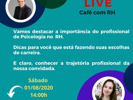 Café com RH#7: Stephanie Ribeiro - O profissional de Psicologia e o RH