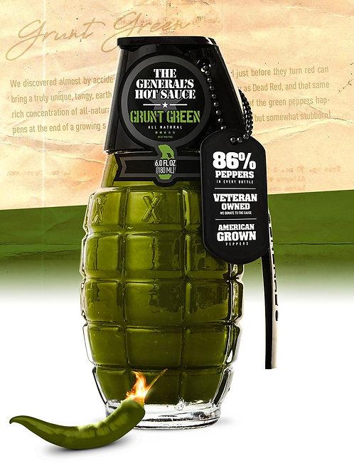 Grunt Green Hot Sauce