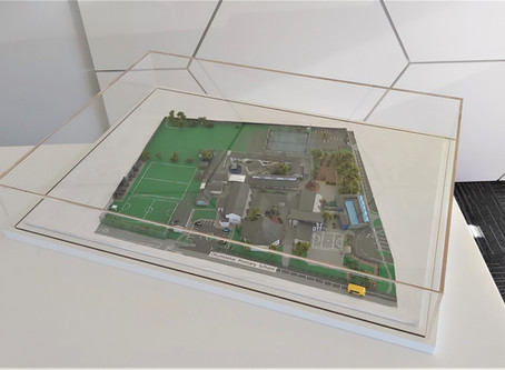 Otumoetai School Acrylic Display Case