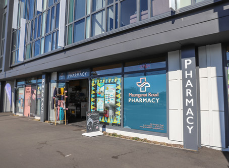 Maunganui Road Pharmacy Fitout
