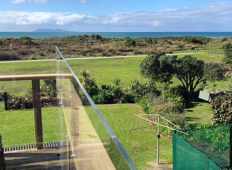 Waihi Beach Acrylic Deck Surround Panels
