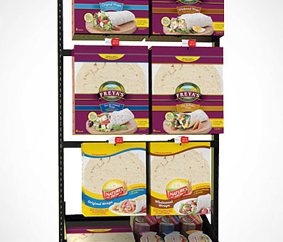 Specialty Bread and Wrap Stands