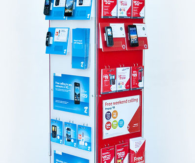 Progressive Rotating Retail Display