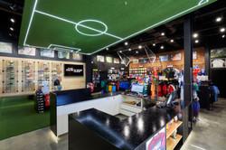 Soccer Shop Bayfair Fitout
