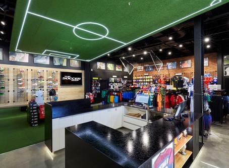 NZ Soccer Shop Bayfair Retail Fitout