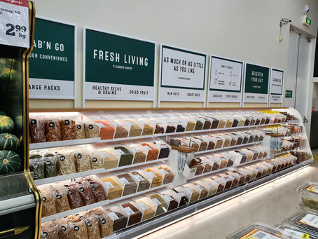 New World Kerikeri Bulk Foods - Design, Manufacture, and Installation