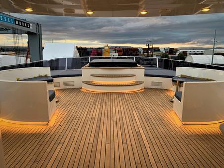 Super Yacht Acrylic Boat Windows