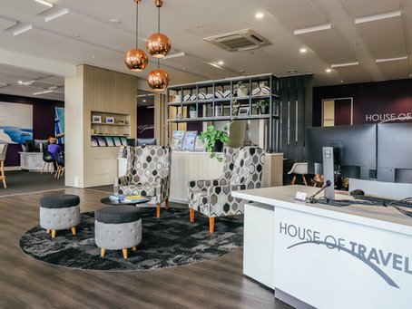 House of Travel Tauranga Crossing Office Fitout