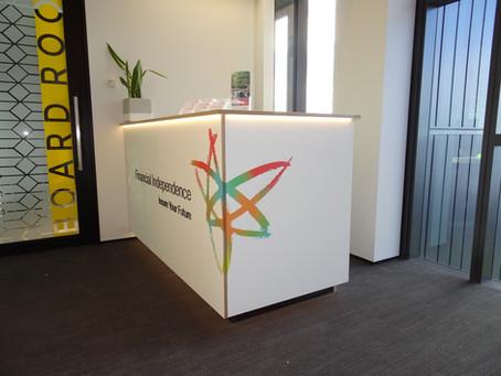 Financial Independence Tauranga Office Refurbish