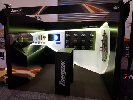 Energizer Expo Stand