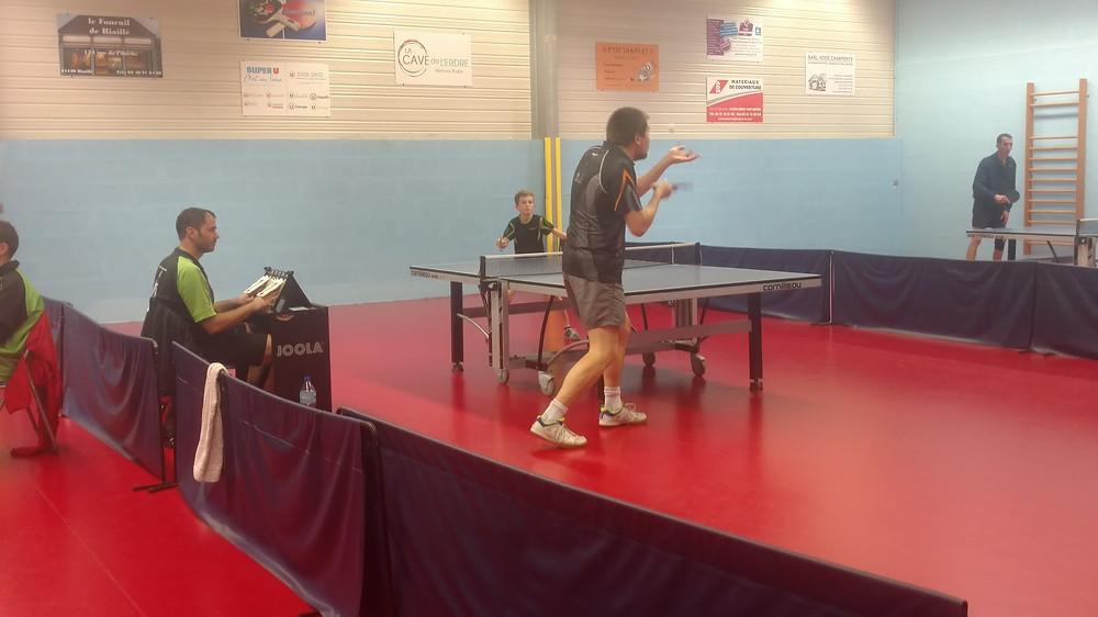 ESJL Tennis de Table   Joué sur Erdre