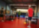 entraînement eESJL Tennis de Table   Joué sur Erdre
