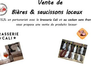 Vente de produits locaux