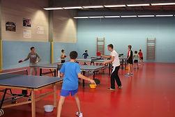 entraînement ESJL Tennis de Table | Joué sur Erdre