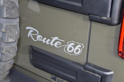"""Route 66"" exterior badging"