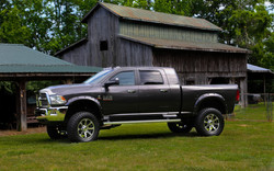 Route 66 Lifted Ram Truck White Grey