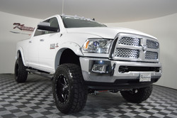 Route 66 Lifted Ram Truck White