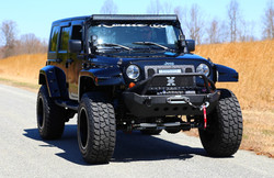 Route 66 Lifted Jeep JK Black